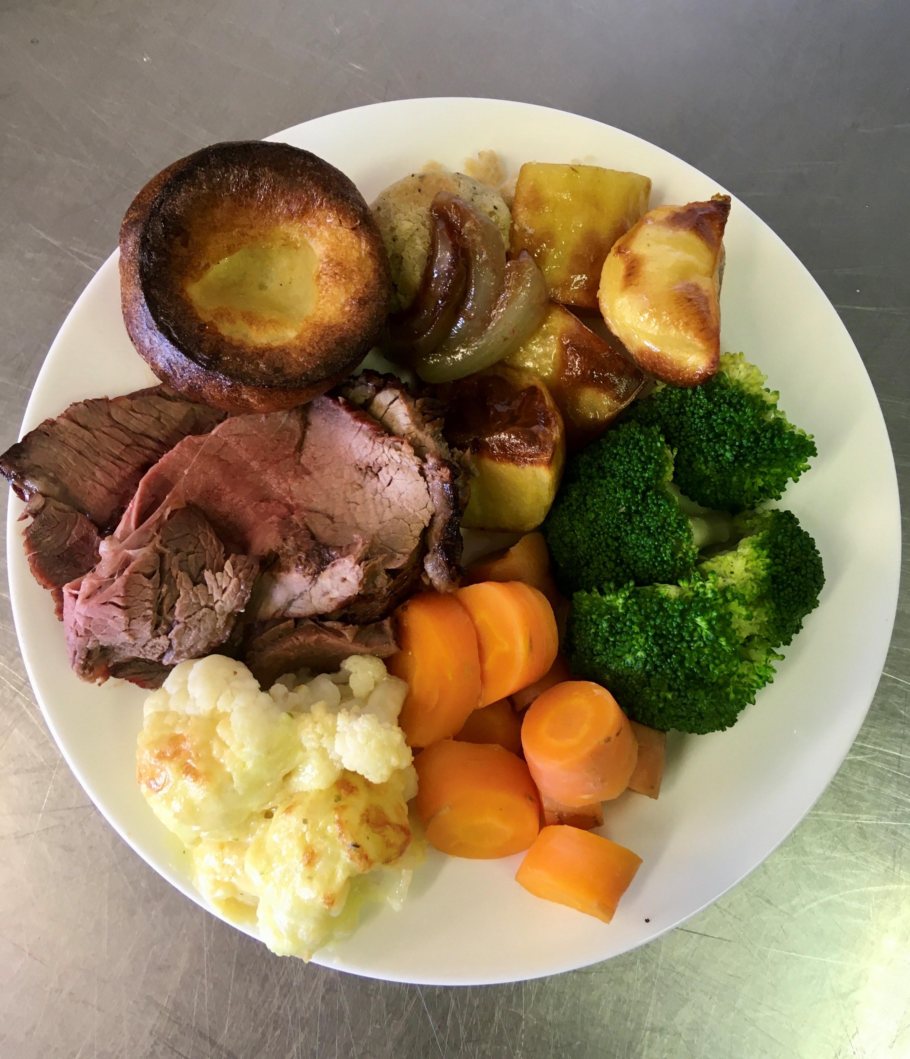 Roast Dinners Takeaway, Salisbury Football Club