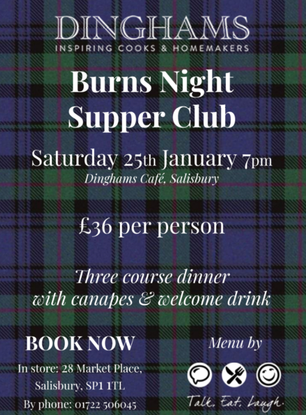 Burns Night Supper Club, Dinghams