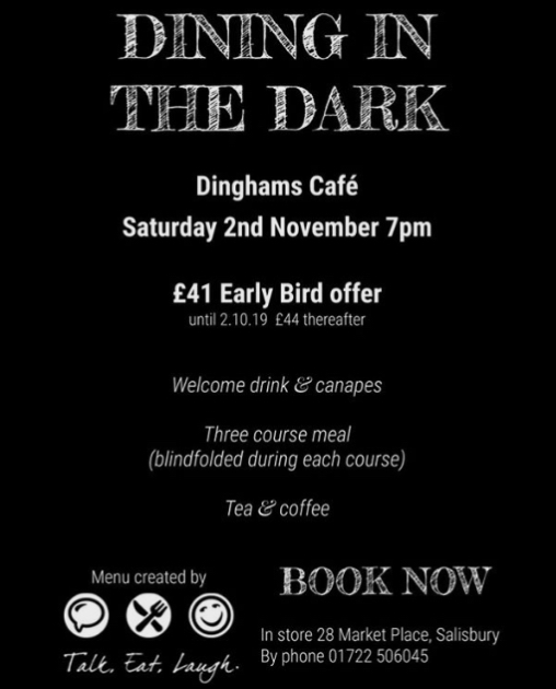 Dining in the Dark, Dinghams