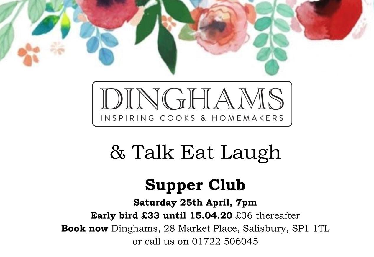 Spring Supper Club, Dinghams